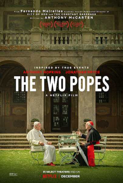 The Two Popes - affiche