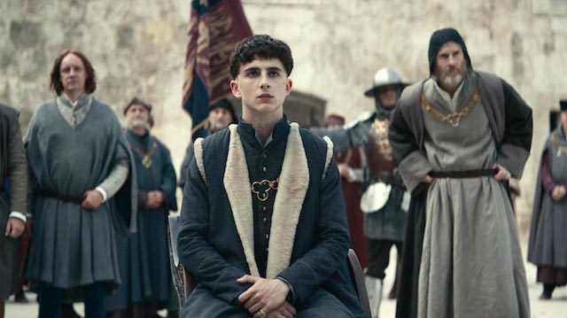 Timothee Chalamet - The King