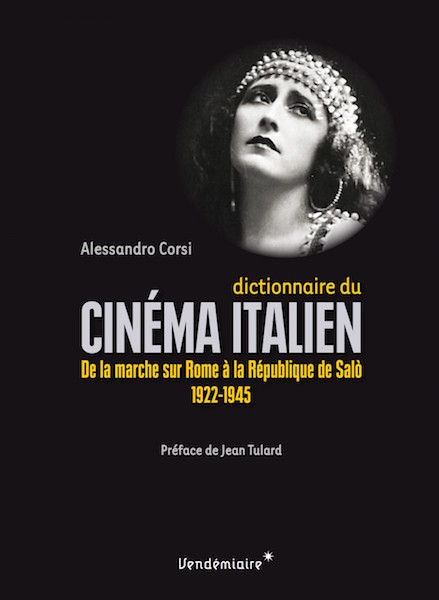 Dicitionnaire cinema italien - livre
