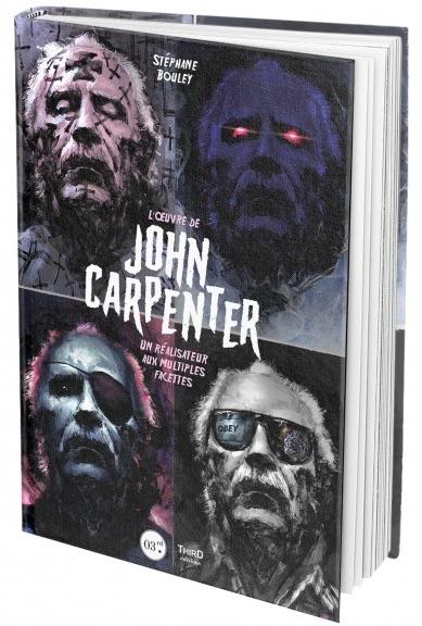 Livre L Oeuvre De John Carpenter Les Masques Du Maitre De