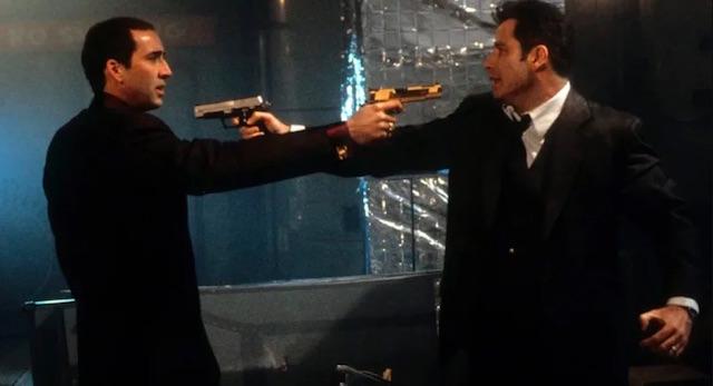 Nicolas Cage et John Travolta - Face Off