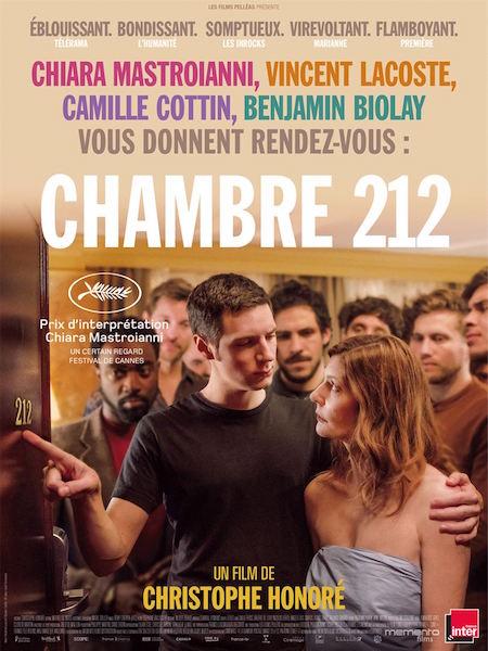 Chambre 212 - affiche