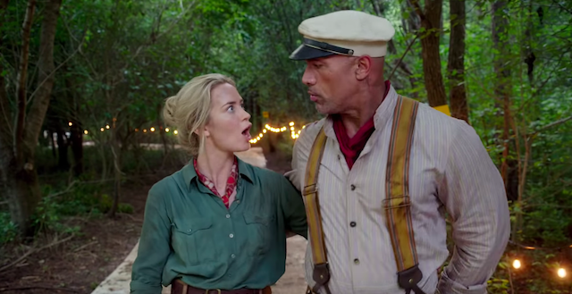 Dwayne Johnson et Emily Blunt - Jungle Cruise