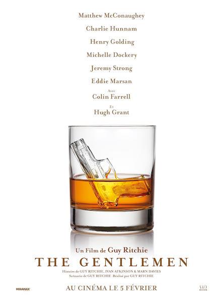 The Gentlemen de Guy Ritchie - affiche