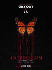 Antebellum - poster teaser noir