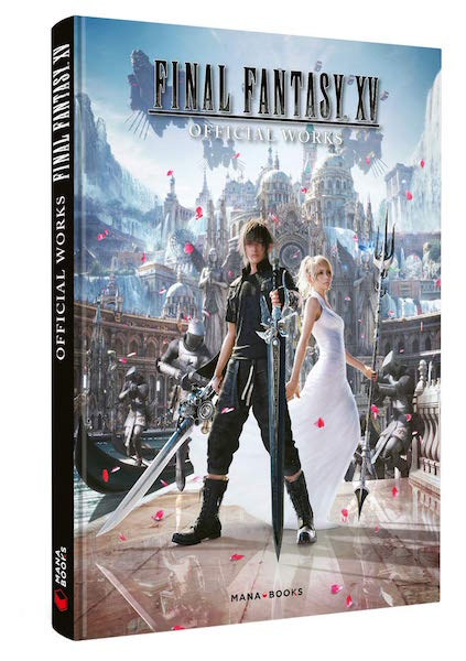 Final Fantasy XV Official Work - livre