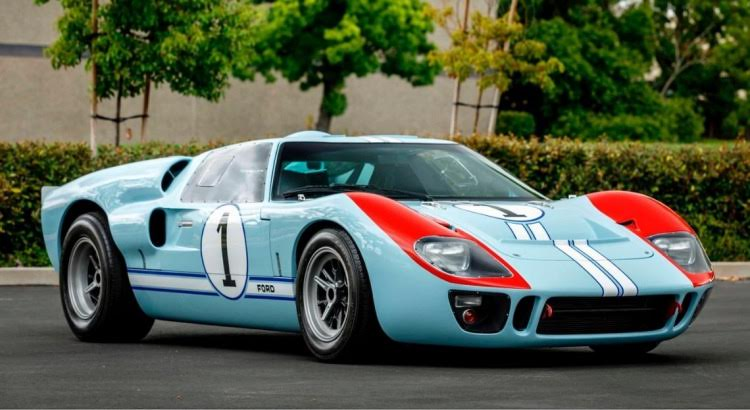 Ford GT40 - Le Mans 66