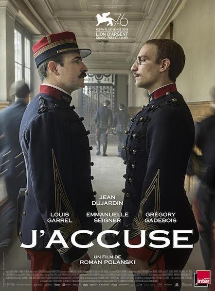 Jaccuse de Roman Polanski - affiche