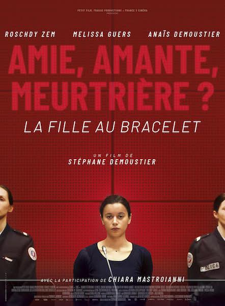 La fille au bracelet - affiche