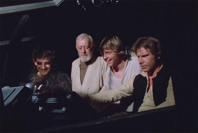 Featurette Star Wars qui revient avec nostalgie sur les 40 ans de la saga