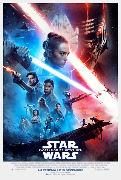 Star Wars - L'Ascension de Skywalker - affiche