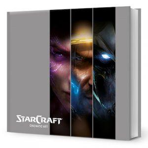 Starcraft Cinematic Art - livre