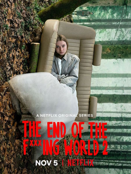 The End Of The Fucking World - affiche