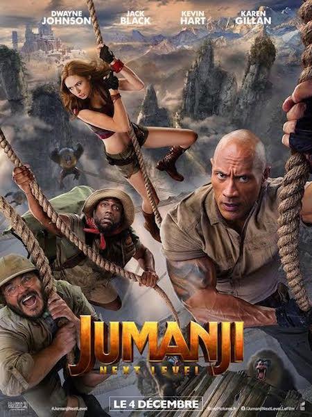 Jumanji - Next Level - affiche