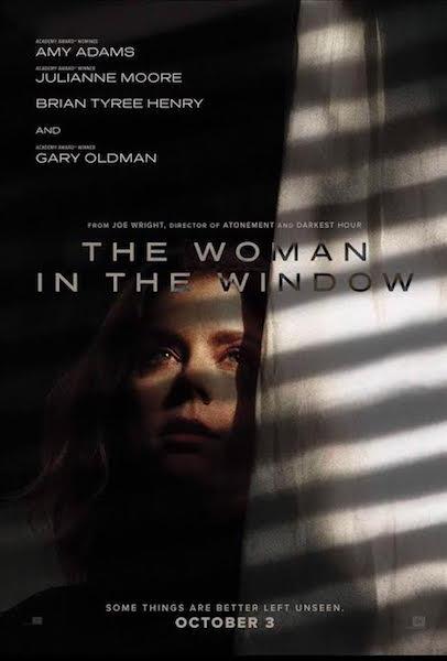 La femme a la fenetre - affiche