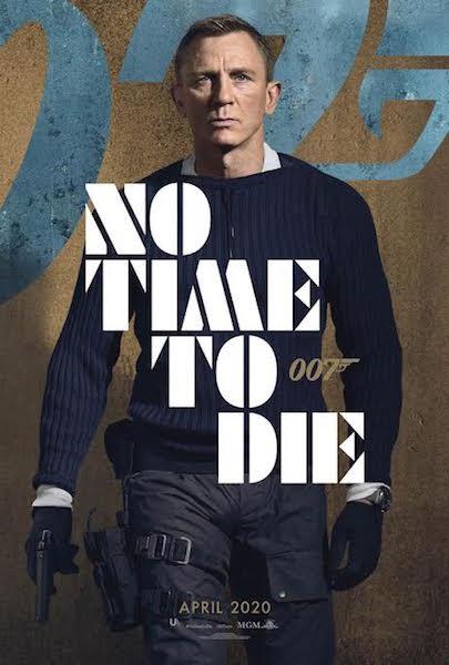 Mourir peut attendre - affiche personnage James Bond