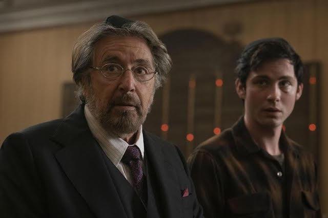 Al Pacino et Logan Lerman - Hunters