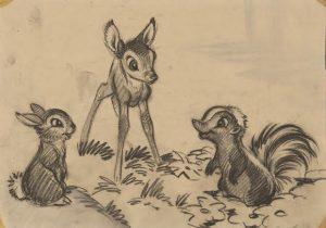 Bambi - dessin Disney