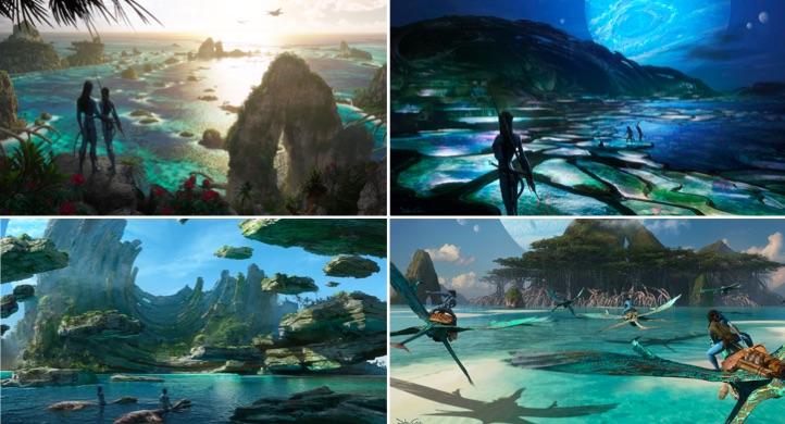 Concept arts - Avatar 2