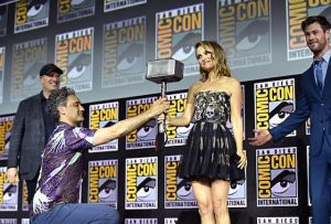 Natalie Portman - Thor Love and Thunder - Comic-Con San Diego