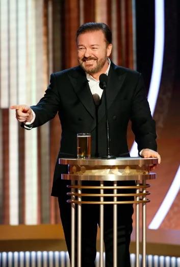 Ricky Gervais - Golden Globes 2020