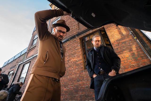 Colin Farrell et Charlie Hunnam - The Gentlemen
