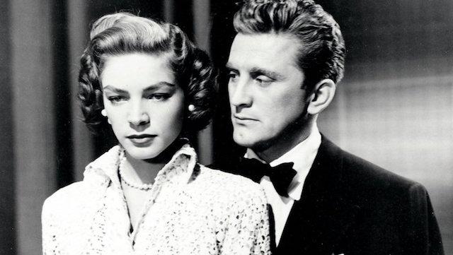 Lauren Bacall et Kirk Douglas