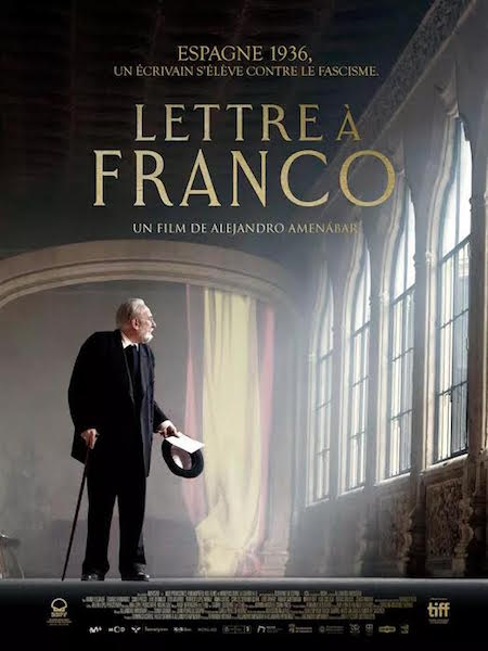 Lettre a Franco - affiche