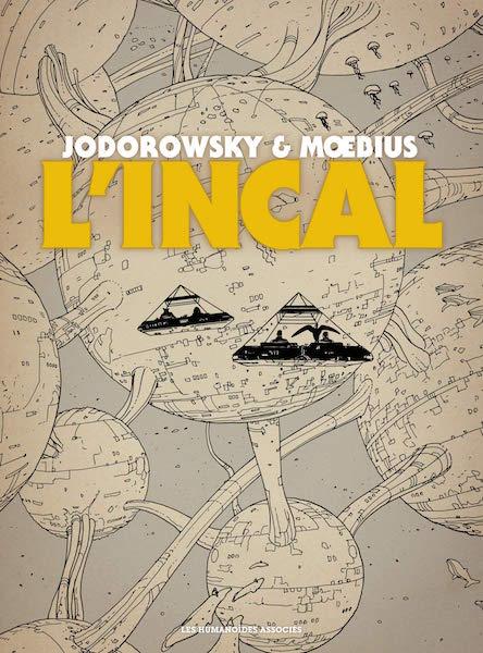 Lincal - integrale noir et blanc - Jodorowsky et Moebius