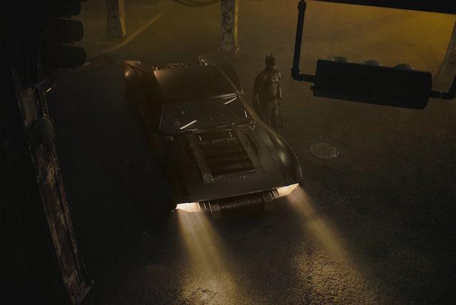 Batmobile- The Batman de Matt Reeves