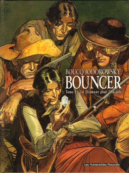 Bouncer - tome 1 - couverture