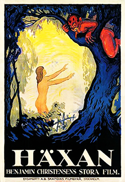 Haxan - affiche IMDb