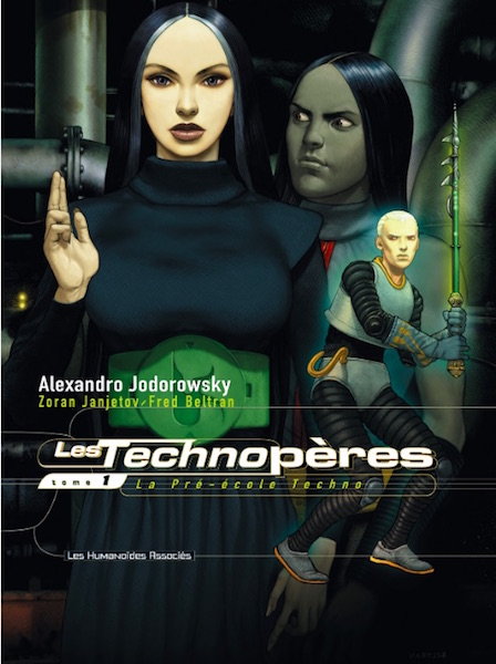 Les Technoperes tome 1 - couverture