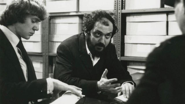 Malcom McDowell et Stanley Kubrick - Orange mecanique Kubrick Estate