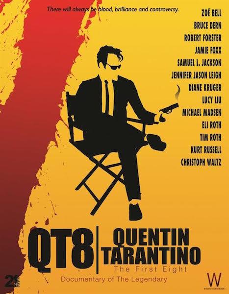 QT8 Quentin Tarantino en 8 films poster