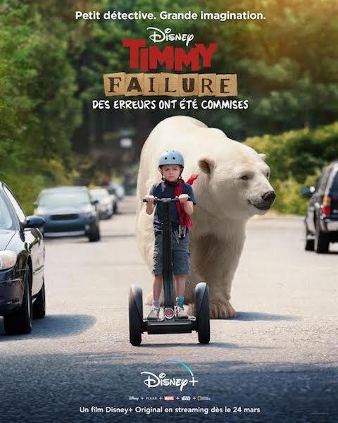 Timmy Failure - affiche