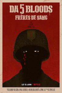 DA 5 Bloods freres de sang - Spike Lee - affiche