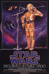 Star Wars radiophonique - affiche