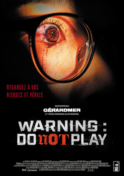 Warning do not play - affiche