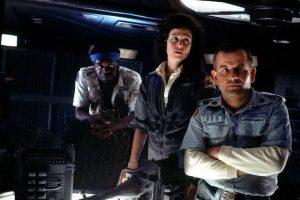 Yaphet Kotto Sigourney Weaver et Ian Holm - Alien
