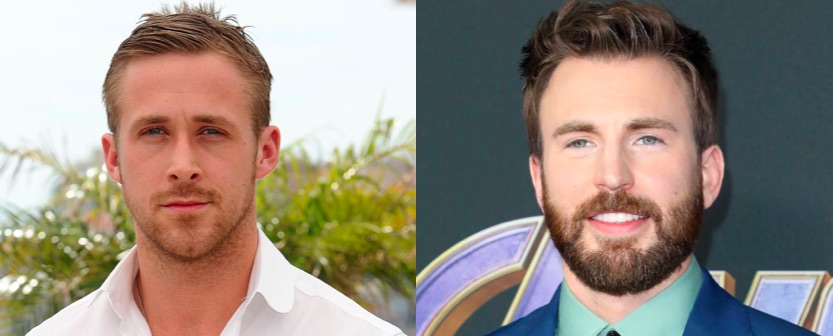 Ryan Gosling et Chris Evans