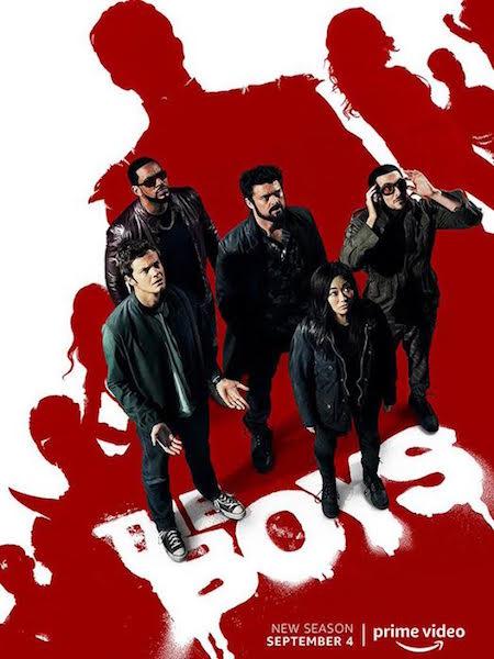 The Boys - saison 2 - affiche