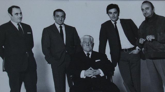 Lino Ventura Jean Gabin Alain Delon Henri Verneuil - serie doc Florence Strauss