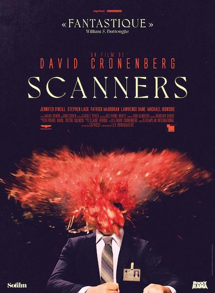 Scanners - affiche ressortie