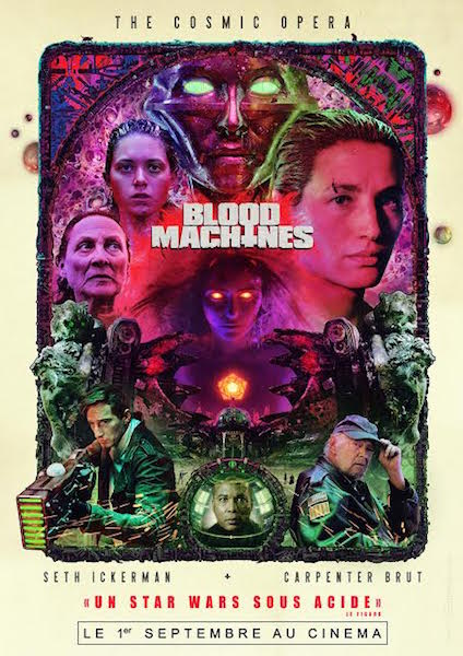 Blood Machines - affiche