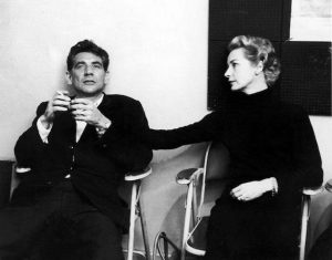 Leonard Bersntein et Felicia Montealegre Cohn Bernstein