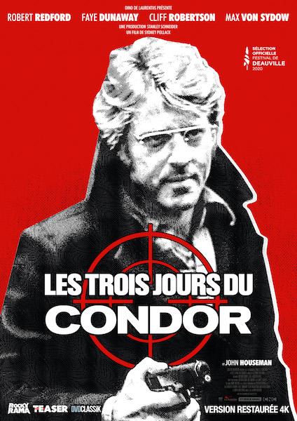 Les Trois jours du Condor - affiche ressortie