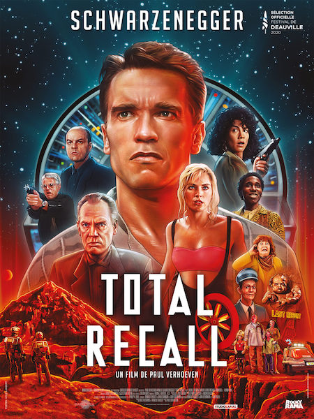 Total Recall - affiche version restauree 4K