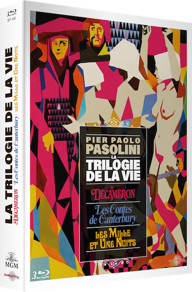 Coffret la trilogie de la vie - Pier Paolo Pasolini
