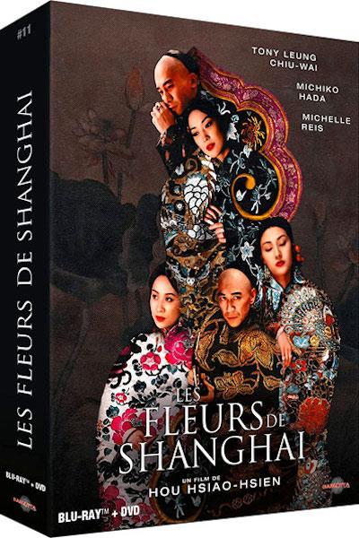 Les fleurs de Shanghai edition prestige Bluray et DVD
